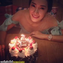 เก็บตก !! ภาพวันเกิดของสาว นุ่น วรนุช