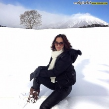 Pic : ตาม จอย รินลณี ตะลุยหิมะที่เซนได