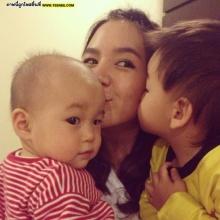 Pic : อัพเดท น้องชิโน่ - น้องชิลี่ สุดน่ารักพลอย ชิดจันทร์