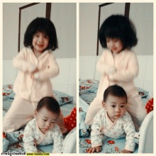 น่ารักอ่ะน้องยี่หวา-ยูจินลูกสาว 2 หน่อของ บร๊ะเจ้าโจ๊ก
