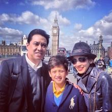 ตามครอบครัว นุสบา ไปเยี่ยมน้องปุณณ์ลูกชายที่ อังกฤษ