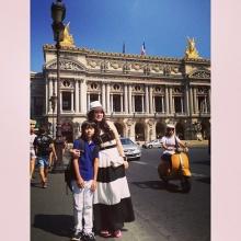 Pic : โบ ชญา ควงหวานใจ - น้องอชิ ลัลล้า ณ ต่างประเทศ
