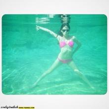 ว้าวววว !! โม อมีนา กับชุดว่ายน้ำเซ็กซี่ฟุดๆ