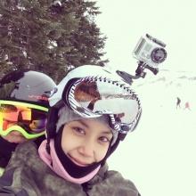ไปเล่นสกีท้าลมหนาวกับ แอริน ยุกตะทัตน์ กัน