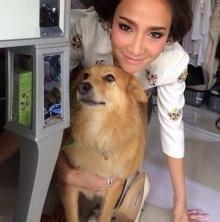 PIC ::เจ้ อั้ม กับ  น้องหมา น่ารัก ฝุดๆ