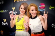 2 นักร้องสาว นิว - จิ๋ว @ Reds Power Party Season 3