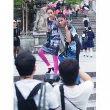 Pic : มิน พีชญา ควงคู่ ปุ๊กลุ๊ก ถ่ายแบบ ณ ญี่ปุ่น