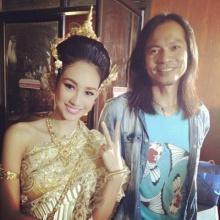 นาว ทิสานาฎ ผู้หญิงที่ใส่ชุดไทย ได้ สวยที่สุด