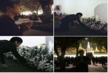 ณเดช คุกิมิยะ วางพวงมาลัย ดอกไม้ ถวายอาลัย