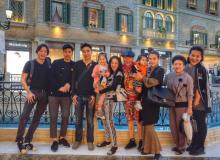 สุดแฮปปี้ หนิง ปณิตา พาครอบครัวเที่ยวเวนิสพร้อมแก๊งเพื่อนสาว!!