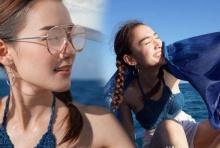 ส่อง เดียร์น่า ลั๊นลาริมทะเล!! สดชื่นสดใส ใจละลายที่ซู๊ดดด!!