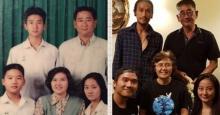 ตูน บอดี้สแลม ลงภาพเซ็ทครอบครัว ปัจจุบัน VS  22 ปีที่แล้ว
