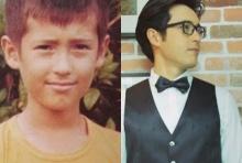 หล่ออมตะ แอนดริว เกร้กสัน วัย 39 เมื่อเทียบกับตอนเด็กหน้าไม่เปลี่ยนเลย