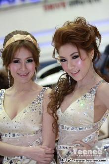 เจิดจรัส..มีสไตล์ พริตตี้สาวสวยจากค่าย SSangYong มอเตอร์โชว์ 2011