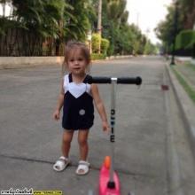 ไลลา เจน บัทเทอรี่ สาวน้อยลูกครึ่งเเสนน่ารัก