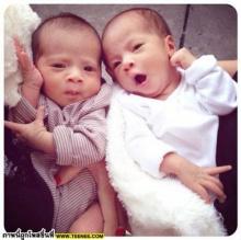 บรู๊คลิน - บีน่า ลูกแฝด นานา -เวย์ น่ารักเวอร์ เวอร์