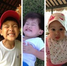 แหม่ม คัทลียา กับภาพน่ารักๆ ของลูกทั้งสาม