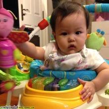 PIC::น้องนิริน ลูกแม่หนิงแก้มป่องน่าหยิกมากๆ