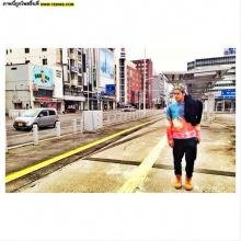 Pic : ตาม อ๊อฟ ปองศักดิ์ เที่ยวญี่ปุ่นกับภาพสวย ๆ