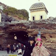 Pic : คู่รักดารา นิวเคลียร์ - ดีเจเพชรจ้า ณ ต่างแดน