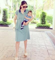 Pic : น้องมาวิน ลูกชายสุดหล่อของแม่เมย์ มาริษา ตาแป๋วม๊ากมาก