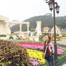 Pic : น้องไบร์ท หวานใจหนุ่มโต๋ ลัลล้า ณ เกาหลี