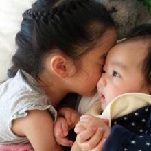 Pic : น้องณดา จูจุ๊บ น้องชาย น่ารักฟุด ๆ