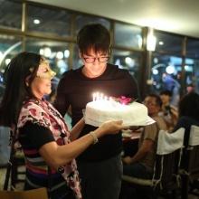 Pic: ปาร์ตี้วันเกิดซุปตาร์ติดดินณเดขน์ คูกิมิยะ