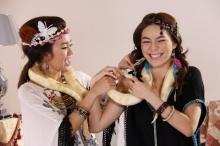"""""""จันจิ-บุศย์"""" ถ่ายแฟชั่นเซ็ต เด็ดสะระตี่..งูหลามพันคอ!!"""