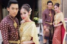 สวยหรูดูแพง เอมมี่ รัชฎา ในชุดไทย ประกบคู่หนุ่มนิรนาม