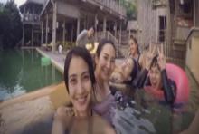 นานทีปีหนจะได้เห็น แต้ว โชว์หวิวนุ่งชุดว่ายน้ำสีดำ!!