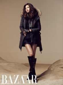Jeon Ji Hyun – Harper's Bazaar Magazine