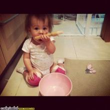 พอลล่า เเละ น้องไลลาลูกสาวสุดน่ารักของเธอ!