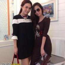 Pic : ซุปตาร์อั้ม พัชราภา กับแก๊งค์เพื่อนสาวของเธอ @IG