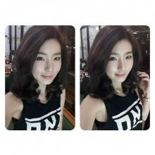 สีผมสุดแสบสันต์ของ จียอน