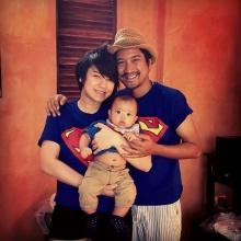 Pic : แอบดูครอบครัวดารากับลูกน้อยน่ารักน่าชัง