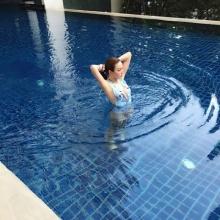 เมย์ พิชญ์นาฎ หุ่นเป๊ะ! ใน ชุดว่ายน้ำ
