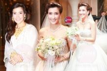 เป๊ะ ปัง เว่อร์!! ส่องชุดแต่งงานสุดหรูของ แองจี้ เฮสติ้ง