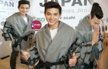 เจมส์จิ มาในลุคหนุ่มญี่ปุ่น น่ารักอ่ะ!!