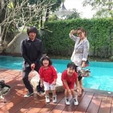 ดูทีไรอมยิ้มทุกครั้งกับความน่ารักของครอบครัวนี้ จูน - เปิ้ล