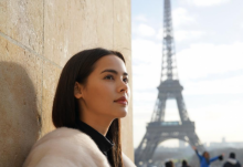 ญาญ่า  อุรัสยา เผยความสวยใสสมวัย ที่ปารีส!!