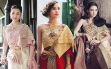 งดงามเลอค่า! ส่องนางเอกลูกครึ่งสวมชุดไทย เห็นแล้วสง่างามมาก!