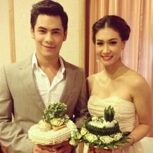 ภาพซีควงเอมี่ไปร่วมงานแต่งพี่ชาย