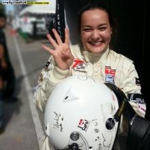 Pic : มาดู นาตาลี ในมาดนักแข่งรถ!!