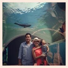 Pic : แม่อ้อม - พ่ออาร์ต พาน้องนาวา เที่ยวสวนสัตว์เขาเขียว