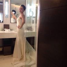Pic : สวยเริ่ดมาก เจนี่ ในชุดแต่งงาน