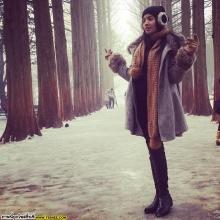 Pic : ใบเตย อาร์สยาม ลัลล้า ณ เกาหลี @IG