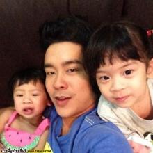 น่ารักอ่ะ น้องยี่หวา - ยูจีน ลูกสาว 2 หน่อของ บร๊ะเจ้าโจ๊ก!