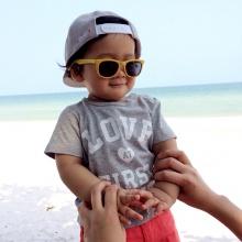 pic:: น่ารัก น้องภูลูกพ่อป๋อ-แม่เอ๋ ตะลุย ทะเล!