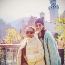Pic : ชมพู่ อารยา ควงคุณแม่ เฮฮาตามประสาแม่ลูก ณ เยอรมนี